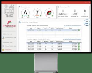 WinDev - Gestion de flux ERP Francap Alkemics